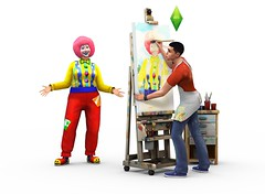 Les Sims 4 Clown