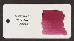 Diamine Tyrian Purple - Word Card