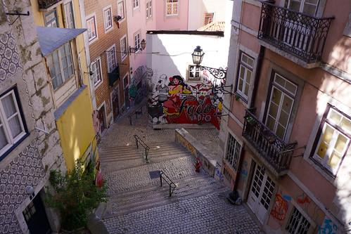 Lisbonne - Escadinhas de São Cristóvão