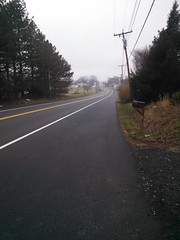 The Road Ahead. Day 7. RT 1 North Bel Air MD. Rainy.