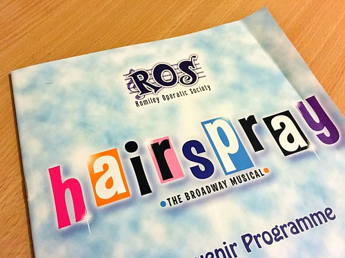 Today is all about...Hairspray