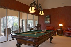 Custom Luxury Home - billiard room copy