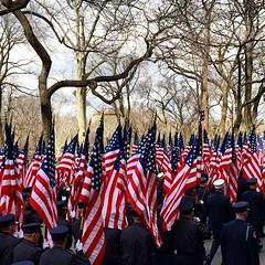 Proud! 343 flags #343flags #firemans #11s #stpatricksday #newyork #nyc #usa