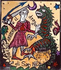 MIRANDA MARCELA_Opera 1_Akritas e il drago