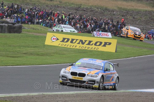 Sam Tordoff in BTCC race one at Knockhill Weekend 2016