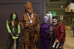 "More Guardians of the Galaxy #cosplay #C2E2 2015 • <a style=""font-size:0.8em;"" href=""http://www.flickr.com/photos/33121778@N02/17108412638/"" target=""_blank"">View on Flickr</a>"