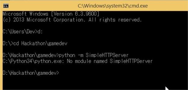 Python - No Module named SimpleHTTPServer