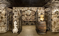 Villa Belle - wine-celler