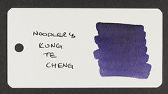 Noodler's Kung Te Cheng - Word Card