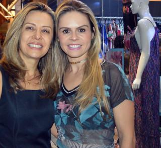 Meire Araújo e Kelly Cavaglieri