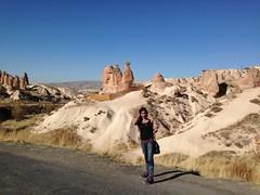 Actress Sanjjanaa holiday in Capadokiya (1)
