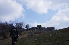 Urcand pe varful Boghiu