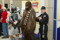 """Chewbacca is Captured by the Empire #C2E2 2015 • <a style=""""font-size:0.8em;"""" href=""""http://www.flickr.com/photos/33121778@N02/16661603103/"""" target=""""_blank"""">View on Flickr</a>"""