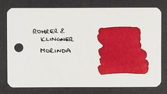 Rohrer & Klingner Morinda - Word Card