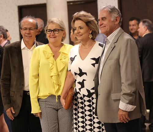 Benedito Pacífico da Rocha e Marcele, com Rosane e Guilherme Tell