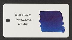 Diamine Majestic Blue - Word Card