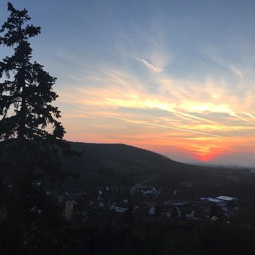 #Rotenberg  #Sonnenuntergang #sunset