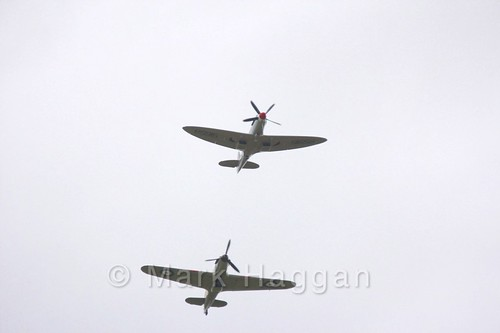 The Battle of Britain Memorial Flight at the Shakerstone Festival 2016
