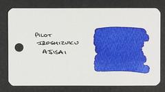 Pilot Iroshizuku Ajisai - Word Card