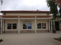 The Visitor Center at the Huntington
