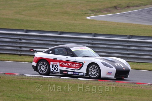 Anthony Ayres in Ginetta Junior Racing during the BTCC 2016 Weekend at Snetterton