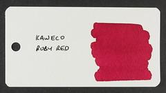 Kaweco Ruby Red - Word Card