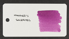 Noodler's Socrates - Word Card