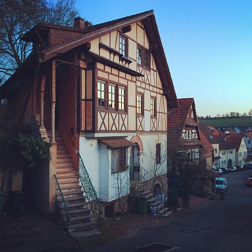 ein #Fachwerk #Haus in #RotenbergThere is a house in Rotenberg