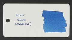 Pilot Blue - Word Card