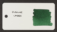 Diamine Umber - Word Card