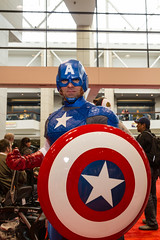 "Capt. Steve Rogers #cosplay #C2E2 2015 • <a style=""font-size:0.8em;"" href=""http://www.flickr.com/photos/33121778@N02/17108426698/"" target=""_blank"">View on Flickr</a>"