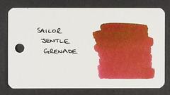 Sailor Jentle Grenade - Word Card