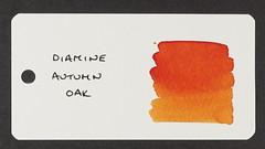 Diamine Autumn Oak - Word Card