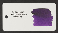 Diamine Flower Set Pansy - Word Card