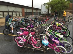 "Bike to School Day • <a style=""font-size:0.8em;"" href=""http://www.flickr.com/photos/122323674@N05/17079884333/"" target=""_blank"">View on Flickr</a>"