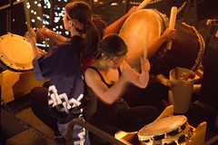 Taiko Drummers on the River