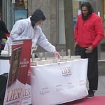 Lies! - Aktion in Lübeck