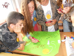 Kids Drawing Peace Messages 2