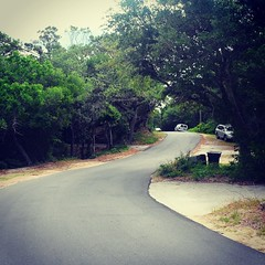 The Road Ahead. Day 40. Timber Trail in Frisco, NC. Feeling the aches, but also had a good sleep on a proper bed last night. #TheWorldWalk #obx #nc #travel #wwtheroadahead