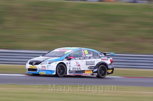 Tom Ingram in Touring Car action during the BTCC 2016 Weekend at Snetterton