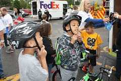 """Bike to School Day 2015 • <a style=""""font-size:0.8em;"""" href=""""http://www.flickr.com/photos/122323674@N05/17200077897/"""" target=""""_blank"""">View on Flickr</a>"""