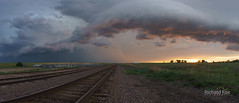"""Amazing Shelf Cloud at Sunset • <a style=""""font-size:0.8em;"""" href=""""http://www.flickr.com/photos/35609298@N06/18349416725/"""" target=""""_blank"""">View on Flickr</a>"""