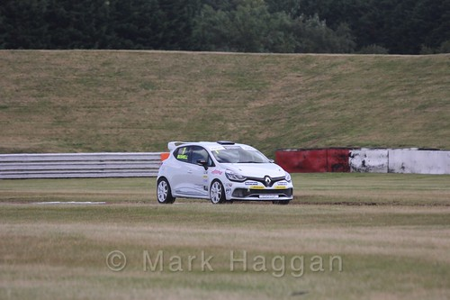 Mike Bushell in the Clio Cup during the BTCC 2016 Weekend at Snetterton