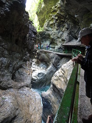Breitachklamm - despite the crowds it's a great gorge