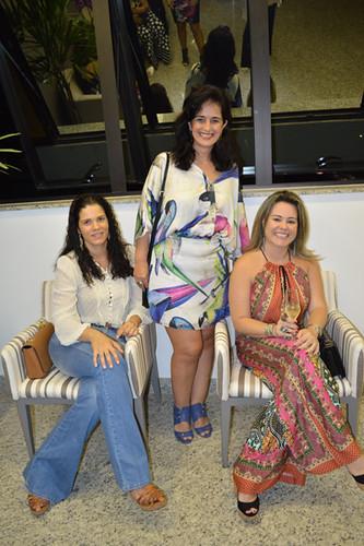 Jose Ferreira, Renata Meira e Renata Lucca