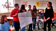 Kids Presenting Peace Messages