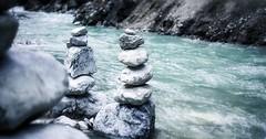 """Der Stein. Die Steine. Aufgeschichtete Steine in einem Fluss. • <a style=""""font-size:0.8em;"""" href=""""http://www.flickr.com/photos/42554185@N00/28593766230/"""" target=""""_blank"""">View on Flickr</a>"""