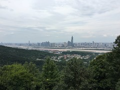 View of Changsha from Yuelu Mountain