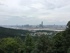 View of Changsha from Yuelu Mountain