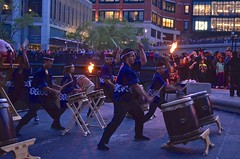 Taiko Drummers First Preformence